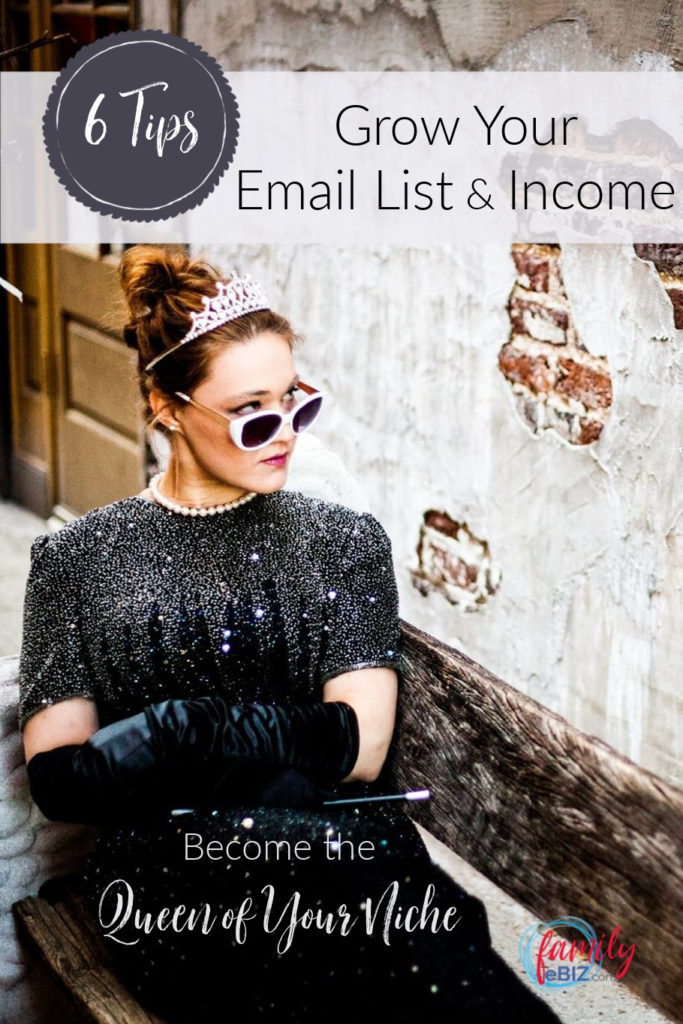 Grow your email list & income